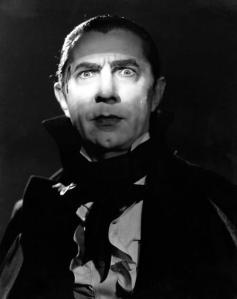 Bela Lugosi in an early portrayal of Dracula