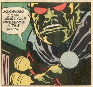 "Panel from Jack Kirby's ""The Demon"""